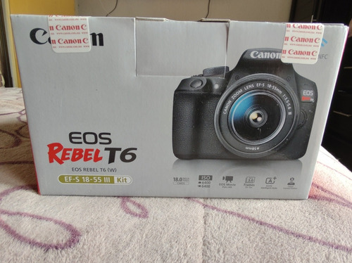 Camara Profesional Canon T6