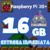 Archivo Imagen Recalbox 16g P/ Raspberry Pi 3b/b+ 8miljuego