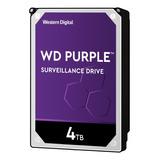Disco Duro Interno Western Digital Wd Purple Surveillance Wd40purz 4tb Púrpura