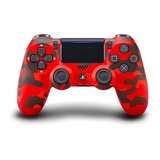 Control Joystick Inalámbrico Sony Playstation Dualshock 4 Red Camouflage