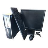 Computadora Economica Dual 4gb Ddr3 Monitor 15' Wifi