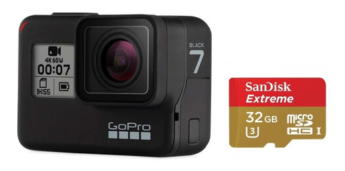 Camara Gopro Hero 7 Black + Memoria De 32 Gb Super Fotos