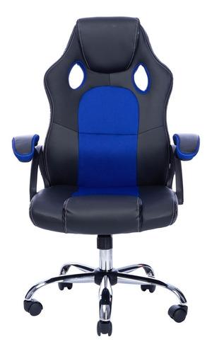 Cadeira Gamer Giratória Em Couro Sintético Best Por Tedge