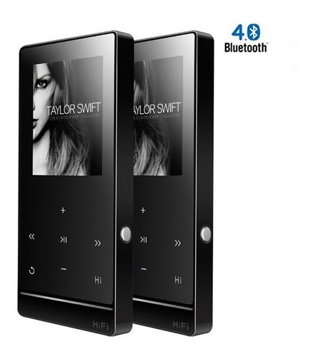 Reproductor Mp3 Mp4 A7 Usb Radio Fm Voz 8gb Bluetooth