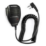 Altavoz Con Microfono Manos Libres Radio Baofeng De Dos Vias