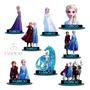 10 Centro De Mesa Frozen 2 Elsa Cavalo Gelo Chá De Bebê Mdf Original
