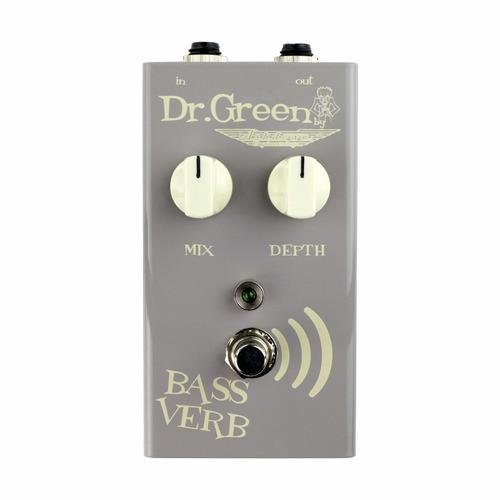 Pedal Para Bajo Dr Green Bass Verb Reverb Pedal For Bass