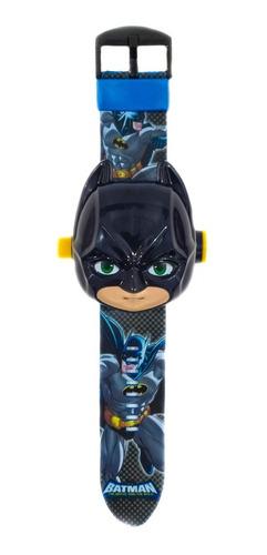 Reloj Digital Niños Proyector 24 Imágenes, Batman Boy