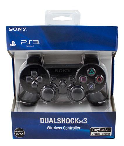 Joystick Inalámbrico Sony Playstation Dualshock Ps3 Negro