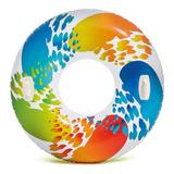 Flotador Salvavidas Inflable Dona Colores Alberca Intex Full