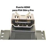 Puerto Conector Hdmi Para Ps4 Slim Y Pro Nuevos Originales
