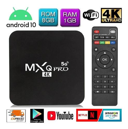 Tv Box 4k 8gb Ram 1gb Quad Core Convierte Tv A Smart Tv + Ob