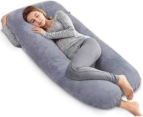 Almohada Para  Embarazo Y Lactancia Jumbo + Regalo Microgel