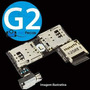 Conector Slot Placa Chip Micro Sd Moto G2 Dual Xt1068 Xt1069 Original