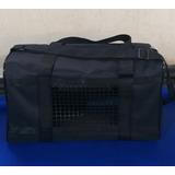 Bolso Transportador Mascota Color Negro