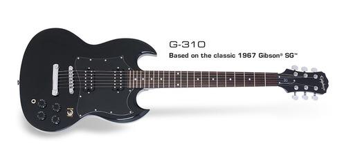 Guitarra Eléctrica EpiPhone Sg G-310 Acdc Mics Hb Open Coil