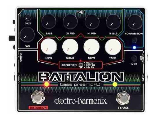 Pedal Preamp Parabajo Electro Harmonix Battalion