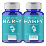 Hairfy - Vitaminas Anti Caída Cabello Pelo - Biotina X120