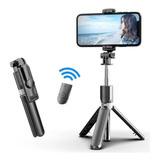 Palo Selfi Inalámbrico Portátil Bluetooth Tripode Selfie Tel