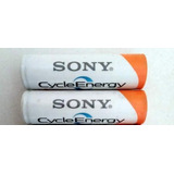 Pila Recargables Aa 2000mah Sony Cycle Energy Sin Envios
