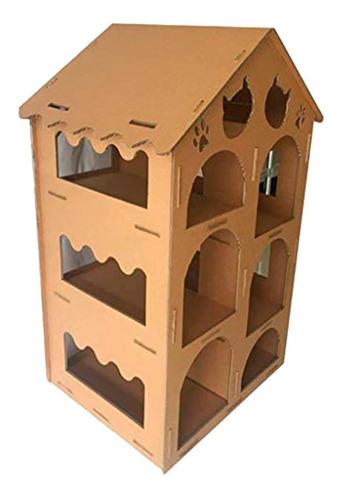 Casa Madriguera Para Gatos