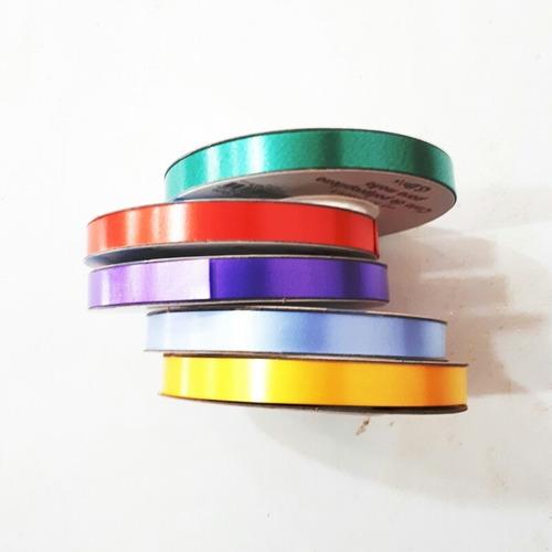 Cinta Papel 12mm 50 Mt  Para Globos Moños Regalos Souvenirs