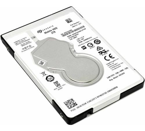 Disco Rigido 2tb Notebook Ps4 Seagate Sata 5400rpm Smal Lan