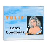 Caja 100 Condones Preservativos Tulip W11
