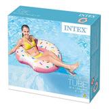 Flotador Salvavidas Inflable Dona Rosa Intex Envio Full