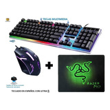 Combo Gamer Teclado Y Mouse Usb @gs