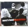 Single Mary's Band - Happy Birthday - B336 Original