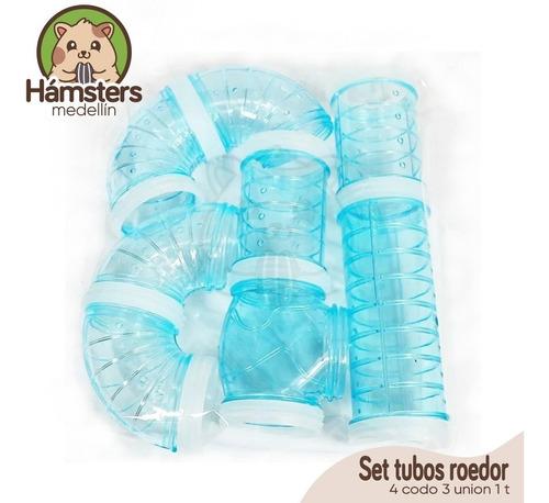 Set Tubos Hamster Roedor
