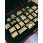 Coleção Legado Brasileiro Selos De Prata Banhados A Ouro Original