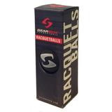 Gearbox Racquetballs3bola Packacabado En Negro