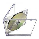 Caja Cd Acrilica Tray Transparente Doble X 10 Unidades
