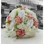 Buquê Noiva Artificial Casamento Festa Anos Branca Original