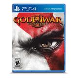 God Of War 3 Remastered Formato Físico Ps4 Original