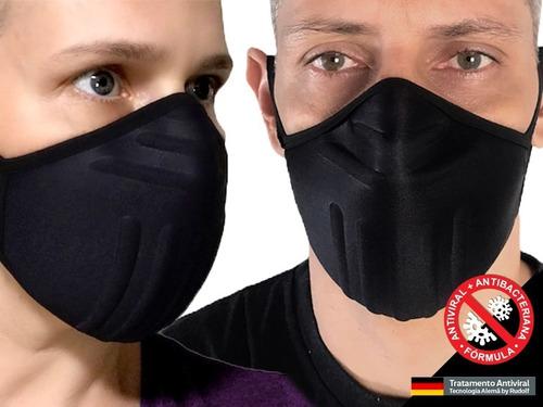 Kit 2 Unid - Máscara Reutilizável Proteção Lavável Anatômica