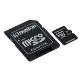 Tarjeta De Memoria Kingston Sdc10 Con Adaptador Sd 64gb