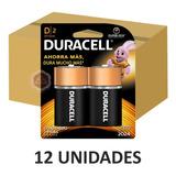 Caja Pilas Duracell Alcalina D2 X 12u -  Sweet Market
