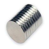 Imán De Neodimio Circular 9 X 3mm (4 Unidades)