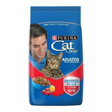 Alimento Cat Chow Defense Plus Para Gato Adulto Sabor Carne En Bolsa De 15kg