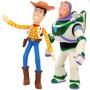 Kit Bonecos Woody E Buzz Toy Story  Lider Brinquedos Original