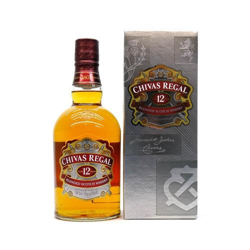 Whisky Chivas Regal 12 Años Escocia Botella 750 Ml