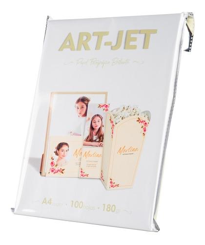 Papel Fotográfico Brillante Art-jet® A4 180gr X 100 Hojas