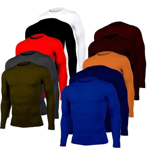 Buzo Camiseta Lycra Compresion Deportivo  +obsequio