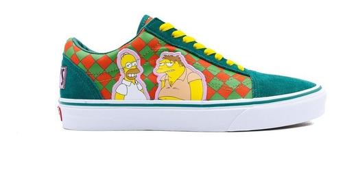 Tenis Vans The Simpsons Modelo Bar Moe
