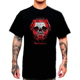 Remeras Metallica - Rock - Camisetas - Serigrafía