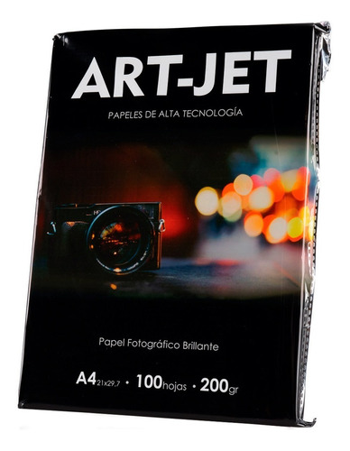 Papel Fotografico A4 High Glossy 200g 100 Hojas Brillante