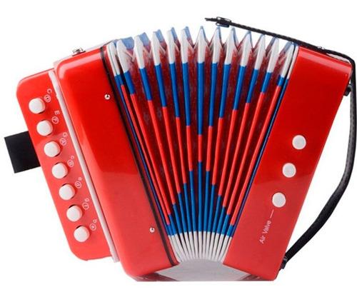 Acordeón Vallenato Para Niños Musical Sonido Real + Obsequio